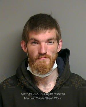 Matthew David Hughes has been held at Macomb County Jail since April 5.