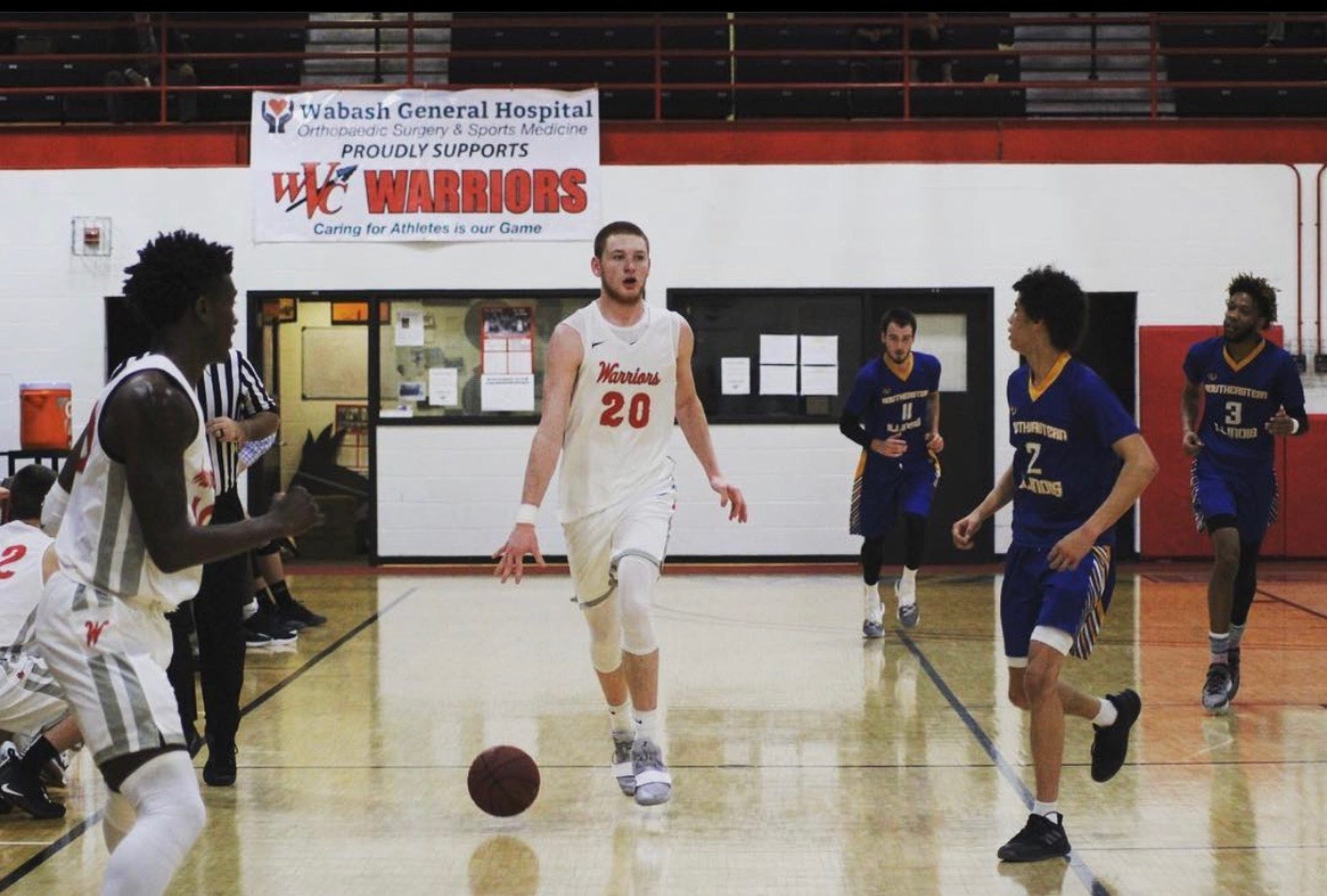 Justin Carpenter spent a season playing basketball at Wabash Valley College after transferring from SEMO.