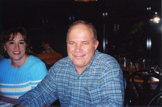 Family photograph of Garry Eubank who died from COVID-19 on Thursday, April 23, 2020 in Evansville, Indiana.