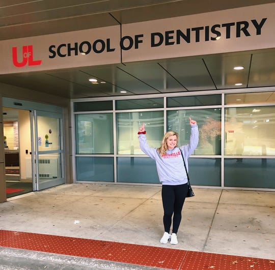 USI's Jennifer Leonhardt will continue her postgraduate education at the University of Louisville's School of Dentistry.
