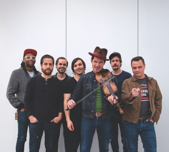 Old-time string band Old Crow Medicine Show plays July 29 at Door Community Auditorium.