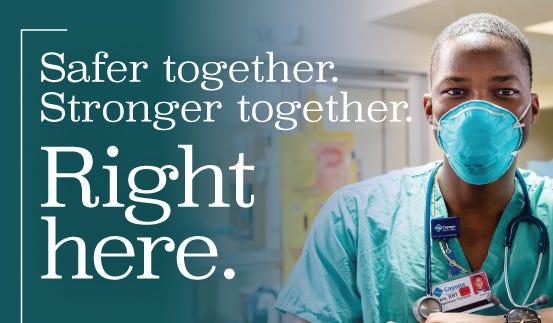 Safer together, stronger together.
