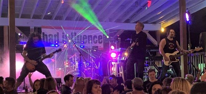 Local rock band Bad Influence will headline the first Festival Fridays online concert at 7 p.m. on May 8.