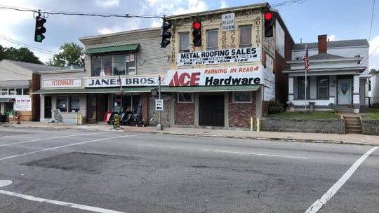 Janes Brothers Hardware Store is in the Portland neighborhood.
