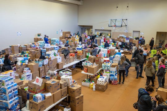 """The Family Radio Network's 2020""""Help for the Homeless"""" hygiene drivereceived more than $428,000 worth of donated hygiene and cleaning supplies this spring for 89 crisis agencies in 15 of their listening communities."""
