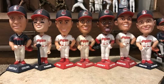 The 2001 Cleveland Indians bobbleheads were the first to be given away as a special stadium promotion and started a tradition like no other.