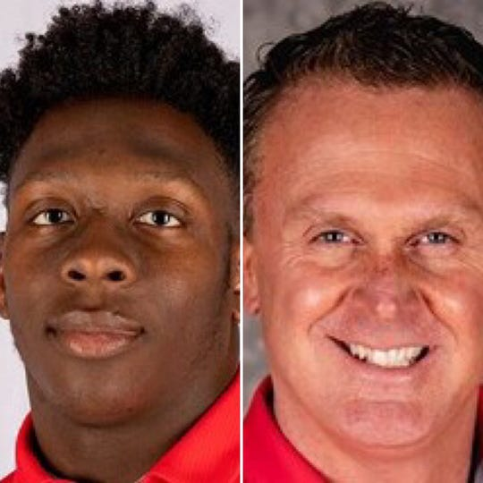 Austin Peay's Kordell Jackson was named the state's college player of the year and Mark Hudpeth was the coach of the year by the Tennessee Sports Writers Association.