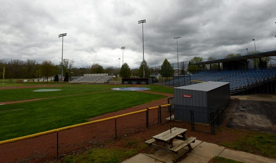 City parks employees and YMCA staff have worked to clean up and repair flooding damage to the baseball diamonds at Don Edwards Park in South Newark.