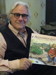 """Silver City Museum Director Bart Roselli will read """"Alejandro's Gift"""" via Zoom at 7 p.m. Sunday, May 3."""