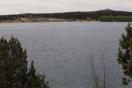 Lake Farmington sits quiet on Thursday, April 30, 2020.