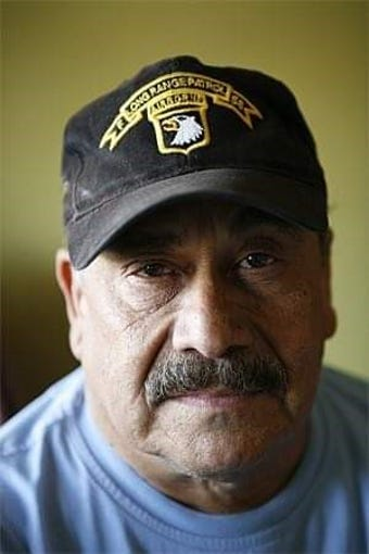 Tony Tercero in a recent portrait. The Vietnam War hero died of COVID-19 this week.