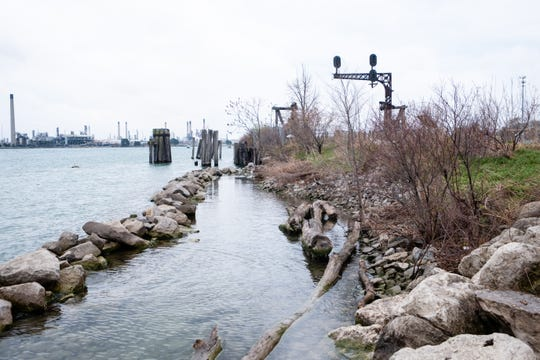 Last year, breaker stones were installed in the St. Clair River along the Blue Water River Walk to help protect it from erosion caused by high water levels. More work is expected to be done this year to help prevent further damage.
