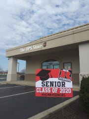 "The UPS Store Richmond is printing ""Honk 4 Seniors"" signs to honor local seniors whose final high school semesters were cut short."