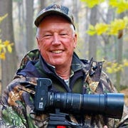 John Adamski, founder of the Finger Lakes museum, is one of the country's foremost wildlife photographers and authors. He stopped long enough for me to capture this image on the 7,000 acres of public land that surround his Dansville retreat.