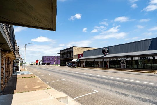 Most business in the small town of McGregor are closed due to the coronavirus pandemic.