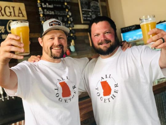 Georgia Beer is participating in the All Together campaign -- and making T-shirts to boot.