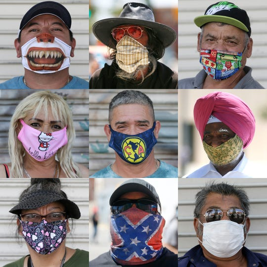 Borderland residents are getting creative with their coronavirus masks. Here is a small selection.