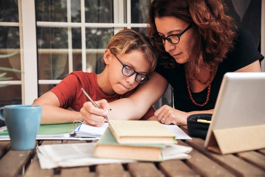 Many families are now relying on at-home learning.