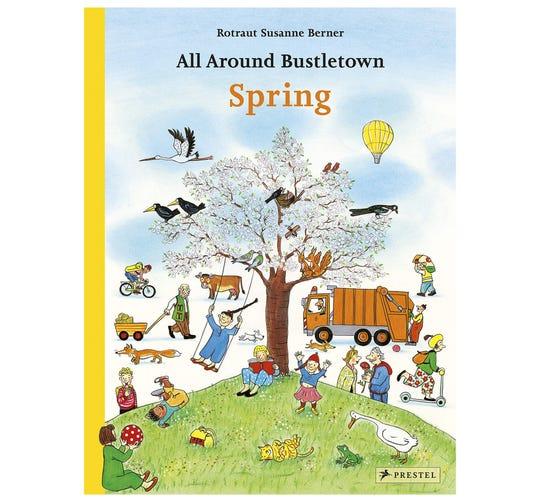 """""""All Around Bustletown"""" series by Rotraut Susanne Berner"""