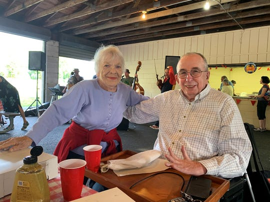 Robert Samuels, right, died April 26, 2020, of COVID-19. Karen Brown died April 29, 2020. The Piermont couple had shared a room at Engelwood Hospital during their treatment, said Charlie Samuels, Bob's son.