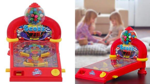Kids are sure to love this gumball machine.