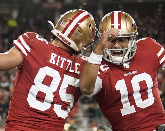 The San Francisco 49ers will face the Buffalo Bills on Dec. 7.