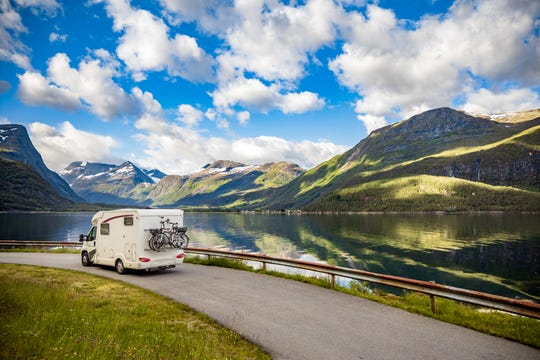 RVs take the lodging out of the equation and minimize contact.