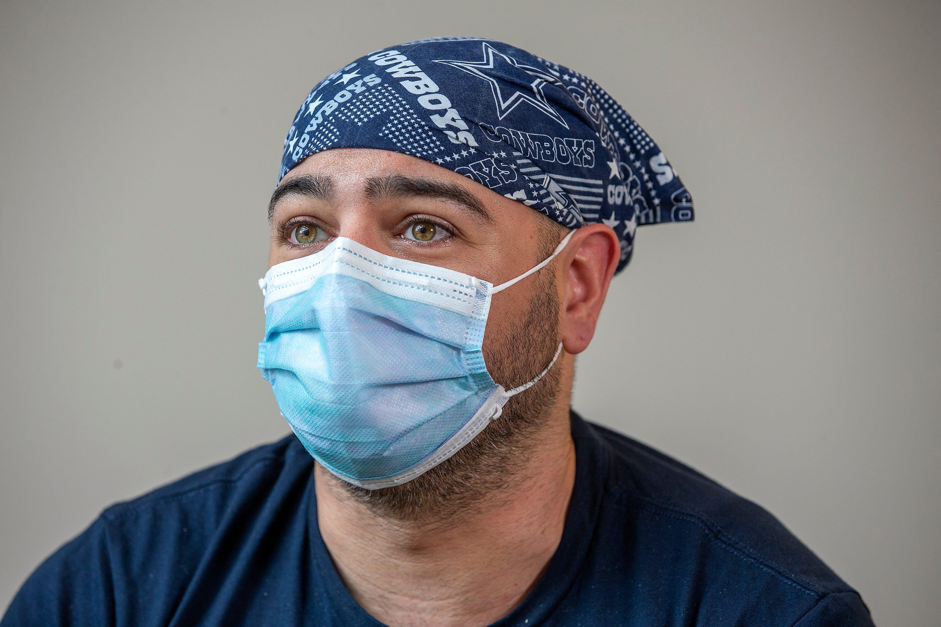 Rich Salerno, respiratory therapist, Ocean Medical Center
