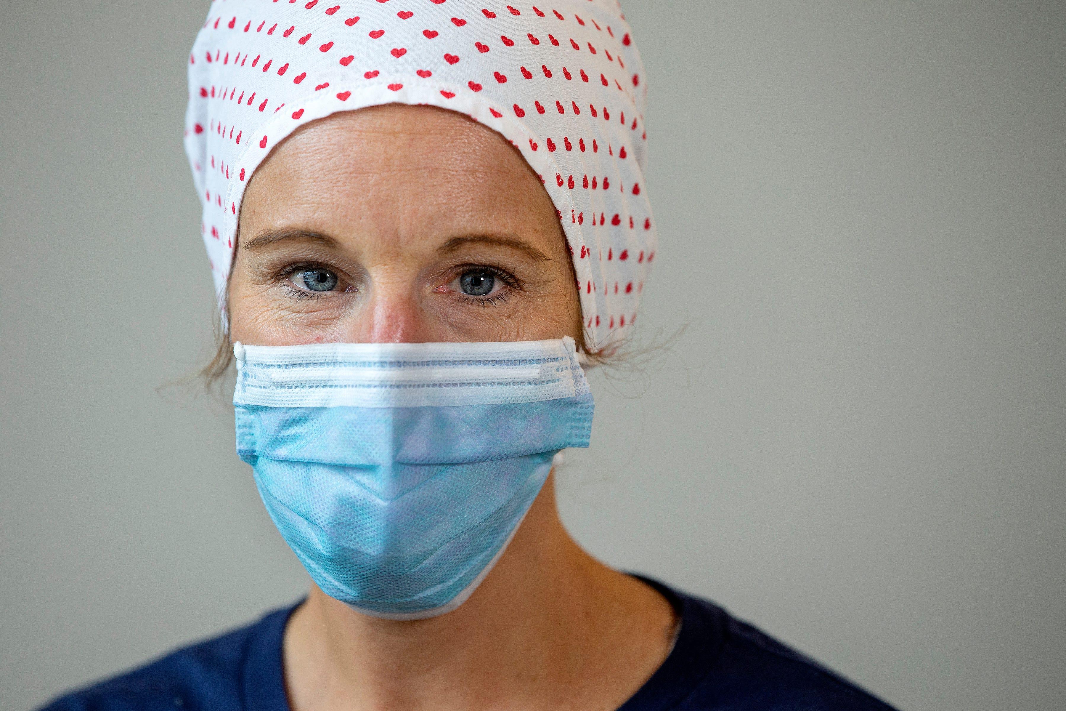 Erin Beagin, 5 South COVID-19 unit nurse, Ocean Medical Center