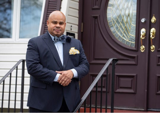 The Rev. Ricky Donato, owner of Donato-Askew Funeral Home in Red Bank.Red Bank, NJFriday, May 1, 2020