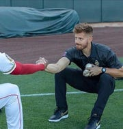 Vestal native Adam Smith is a minor league strength and conditioning coach for the Los Angeles Angels of Anaheim.