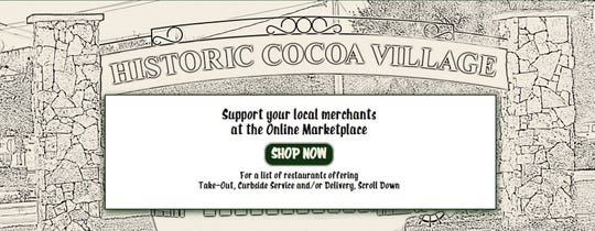 Historic Cocoa Village Main Street has created a portal for customers to shop small from home.
