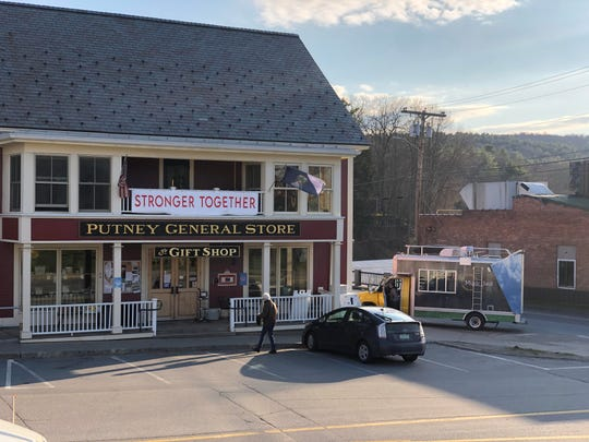 The Yellow Barn Music Haul stops by the Putney General Store in southern Vermont.