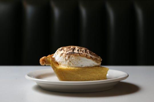 Lemon meringue pie, pictured, Friday, May 1, 2020, at OTR Chili on Elm Street in Cincinnati.