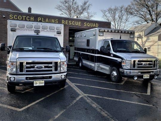 The Scotch Plains Rescue Squad's ambulances.jpg