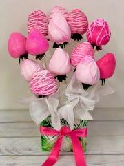 Strawberry bouquets from Fresh Tiki Bar.