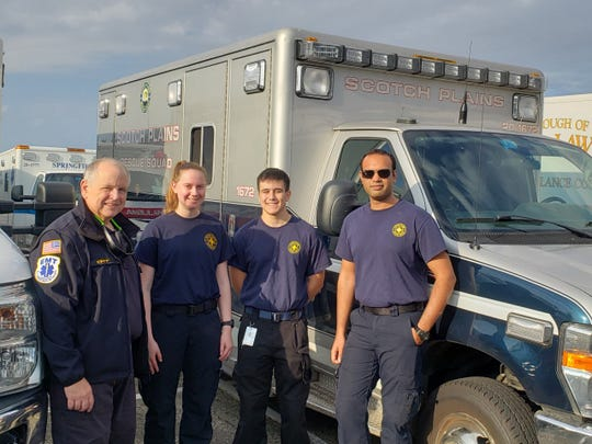 Members of the Scotch Plains Rescue Squad