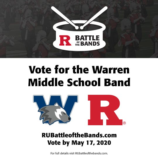 Vote for the Warren Middle School Band.
