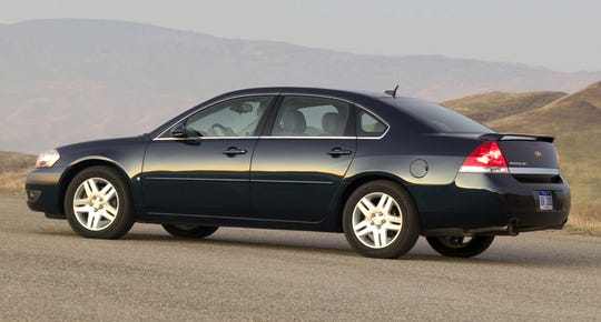 The NHTSA denied a petition seeking a formal investigation of full-size cars including the Chevrolet Impala from the 2004 to 2010 model, shown, years