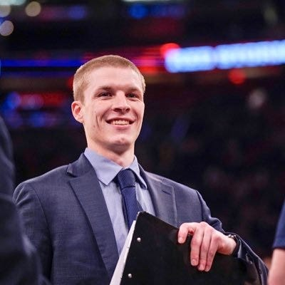 Bosse graduate Bo Burkhart spent the past two years on staff at Xavier University as a graduate assistant.