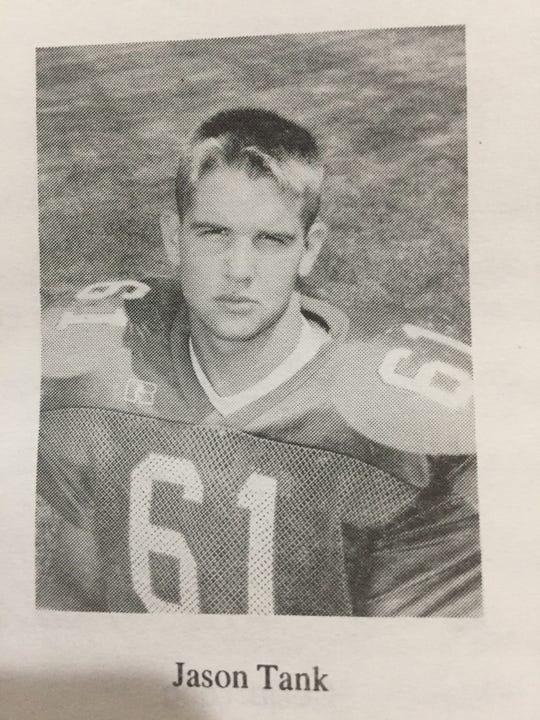 Jason Tank was a two-way lineman for Oak Harbor.