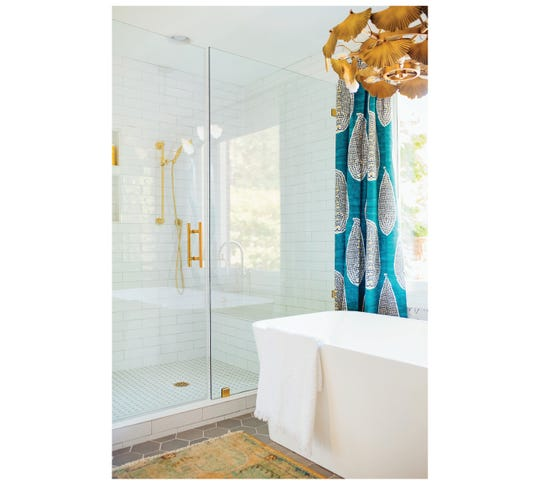 A master ensuite designed by Amanda Louise Campbell