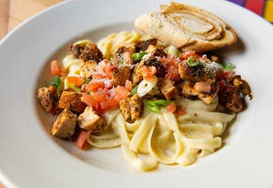 Voodoo Pasta from Barley's Taproom and Pizzeria