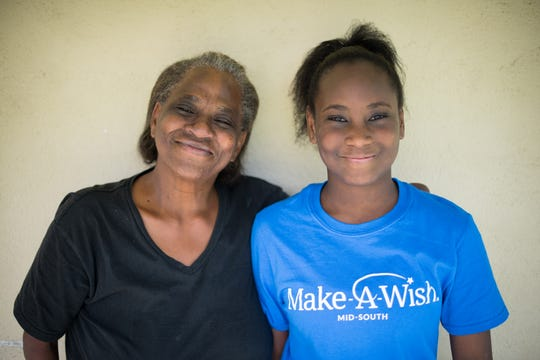 Maxine Banks has been with her 12-year old granddaughter Deonna Horton for every doctor visit Deonna's had since a brain tumor was removed, followed by radiation and chemo.