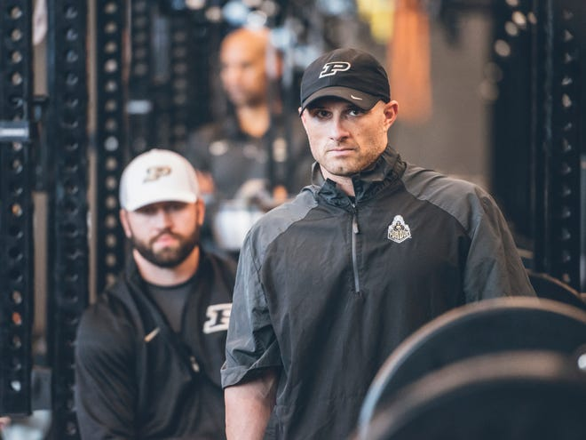 Domenic Reno is Purdue's new director of football strength and conditioning