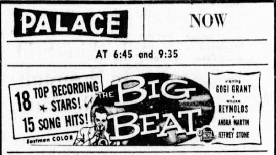 This ad appeared in the April 24, 1958 Lancaster Eagle-Gazette.