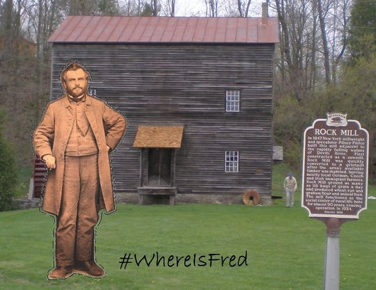 Manitowoc County Historical Society's 'Where is Fred B.?' scavenger hunt invites community members to visit the Manitowoc County Historical Society's website to download a miniature cut-out of Frederick Borcherdt, a German immigrant and early tourism ambassador for Manitowoc County.