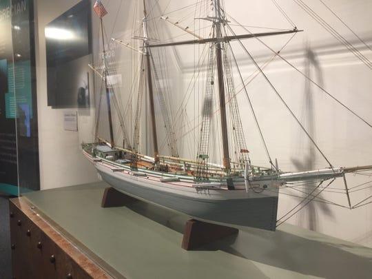 Model of the Cornelia B. Windiate.
