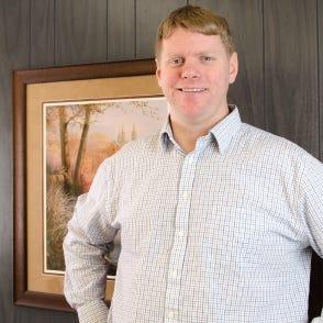 Mark Naber is a co-owner of West Allis Blueprint Paper Supply.