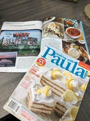 "Monroe-West Monroe is the featured travel destination in May/June issue of ""Cooking with Paula Deen."""